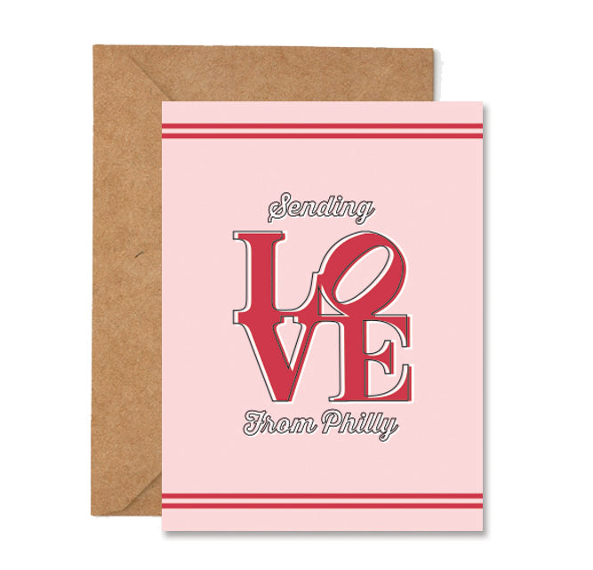 Philly Love Greeting Card