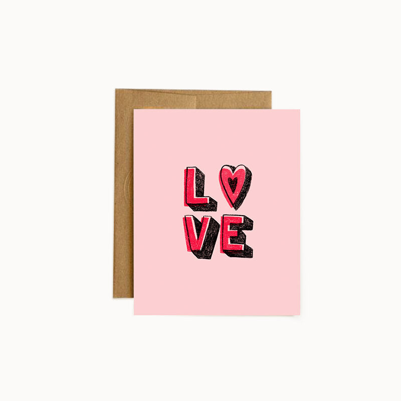 Alisa Wismer Philly-Inspired Love Greeting Card