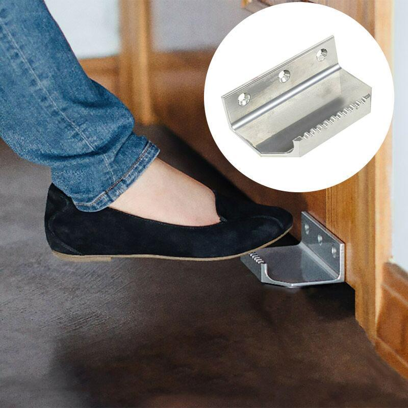 Hands Free & Foot Operated Door Opener
