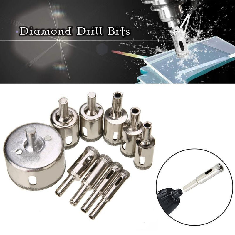 Diamond Drill Bits (10 PCs)