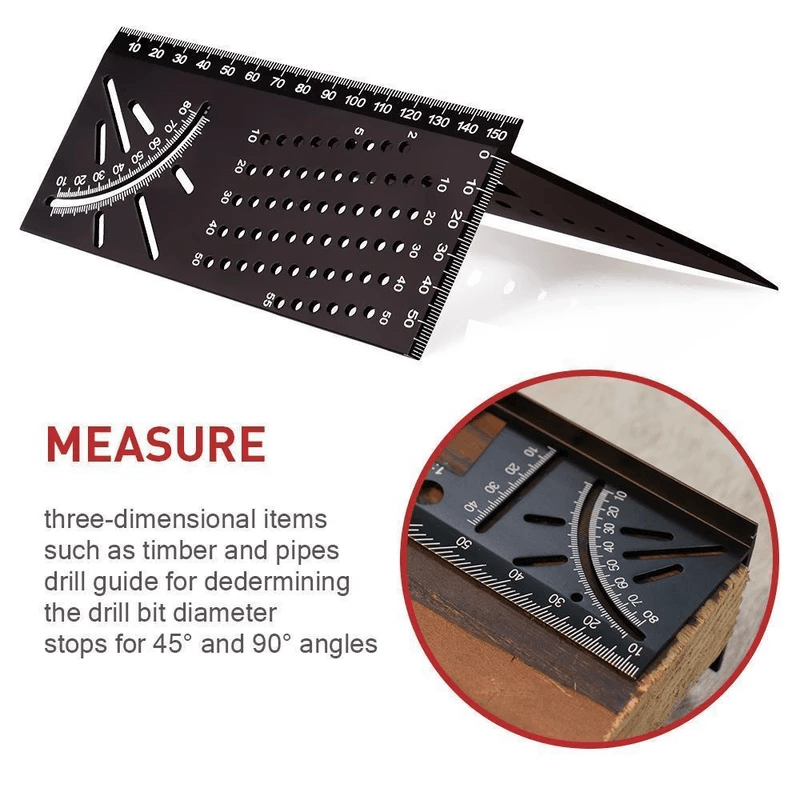 3D Mitre Angle Measuring Tools