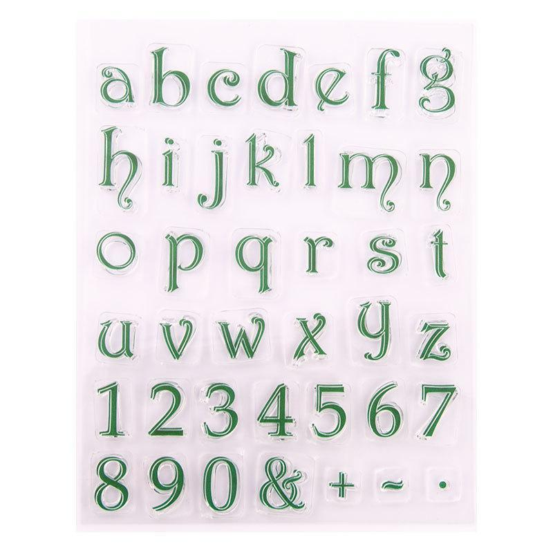 Alphabet or Number Cake Stamp Tool