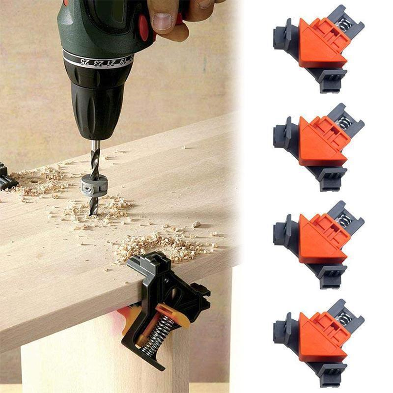 90° Corner Clamps For Carpentry (4 PCs)