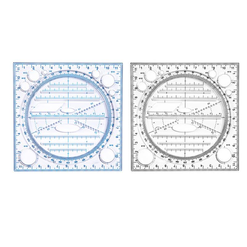 Multifunctional Drawing Ruler