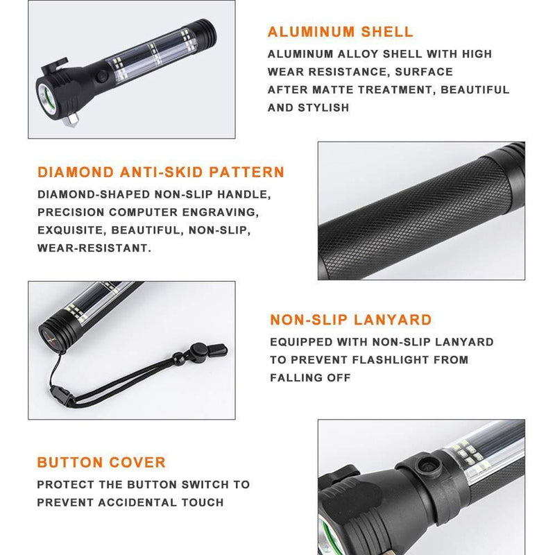 Multi-functional Emergency Flashlight
