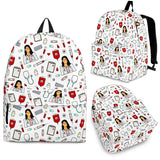 Womens Medic Backpack - White Character