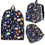 Men's Chef Backpack - Black Character