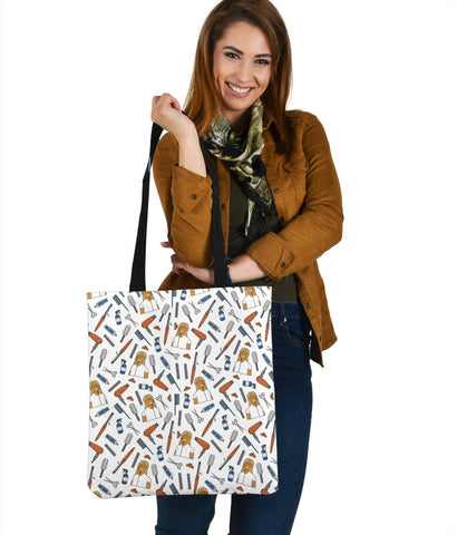 Women's Hairdresser Tote - Brown Character