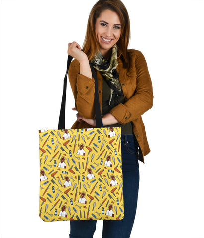 Women's Hairdresser Tote - Black Character