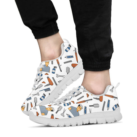 Men's Hairdresser Sneakers - White Character