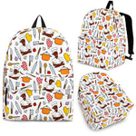 Women's Chef Backpack - Black Character