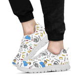 Women's Scrubs Sneakers - White Character