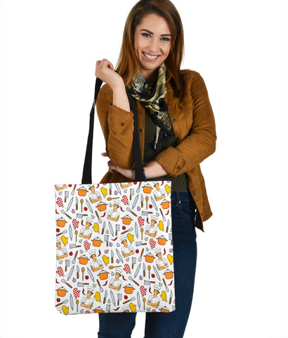 Women's Chef Tote - White Character