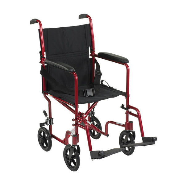 ALUMINUM TRANSPORT CHAIR - DRIVE