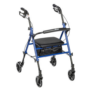 "ROLLATOR 6"" CASTERS - ADJUSTABLE SEAT-DRIVE"