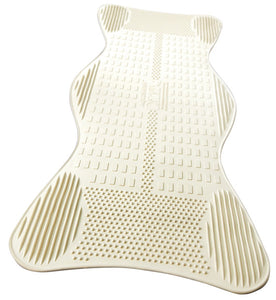 AquaSense Bath Mat, Contoured with Invigorating Massage Zones