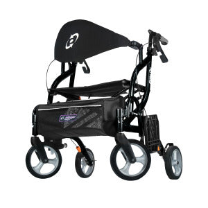 AIRGO FUSION 2IN1 ROLLATOR - TRANSPORT CHAIR