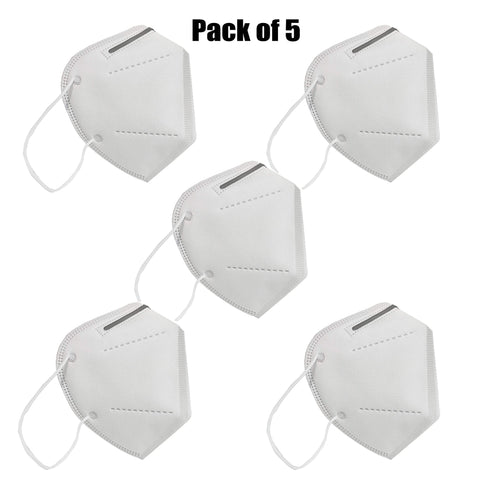 Disposable KN95 Masks - Pack of 5