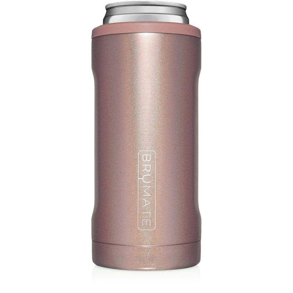 BruMate Glitter Rose Gold Slim Hopsulator