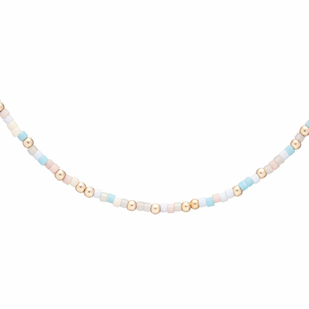 "Cotton Candy enewton 15"" Choker"