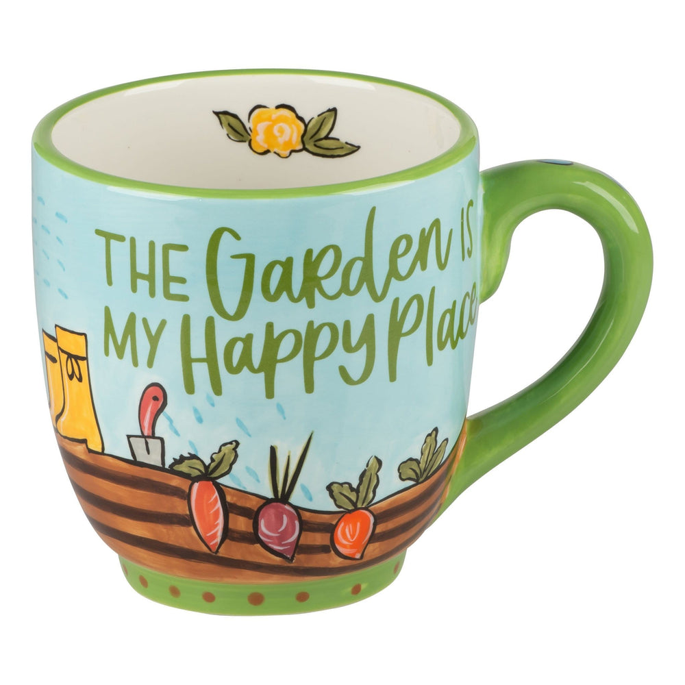 The Garden is My Happy Place Mug at It's So Wright