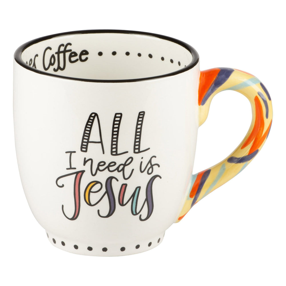 Jesus and Sometimes Coffee Mug at It's So Wright