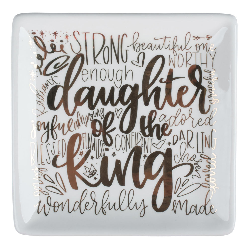 Daughter of the King Trinket Tray at It's So Wright