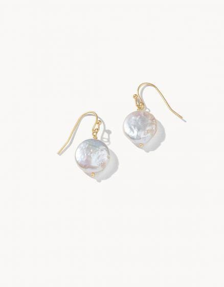 Pearl Drop Earrings at It's So Wright