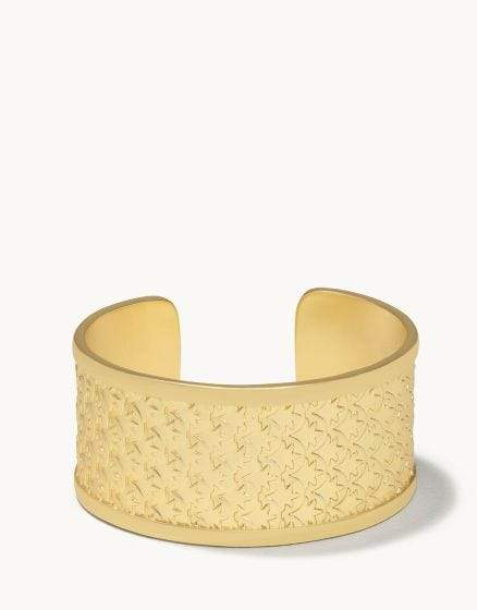 Mermaid Scale Gold Cuff at It's So Wright