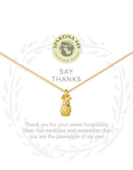 Say Thanks Sea La Vie Necklace at It's So Wright