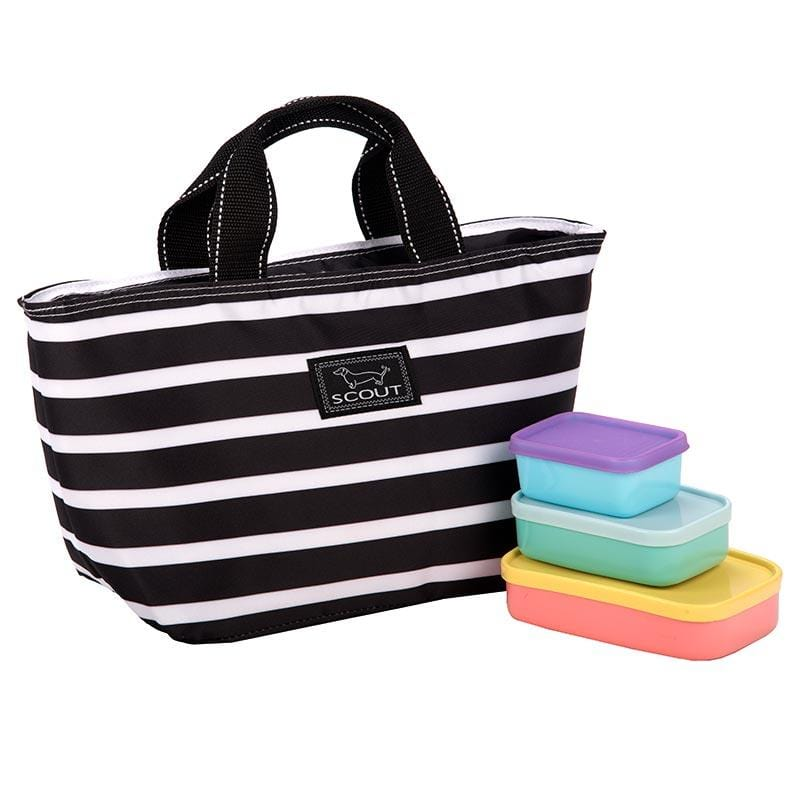 Scout Nooner Lunch Box Fleetwood Black