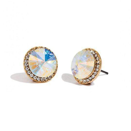 Iridescent Rivoli Earrings