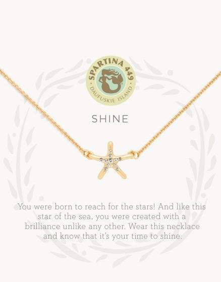 Shine Sea La Vie Necklace at It's So Wright