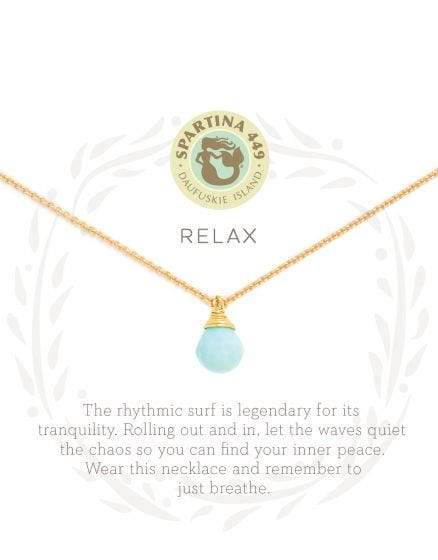 Relax Sea La Vie Necklace at It's So Wright
