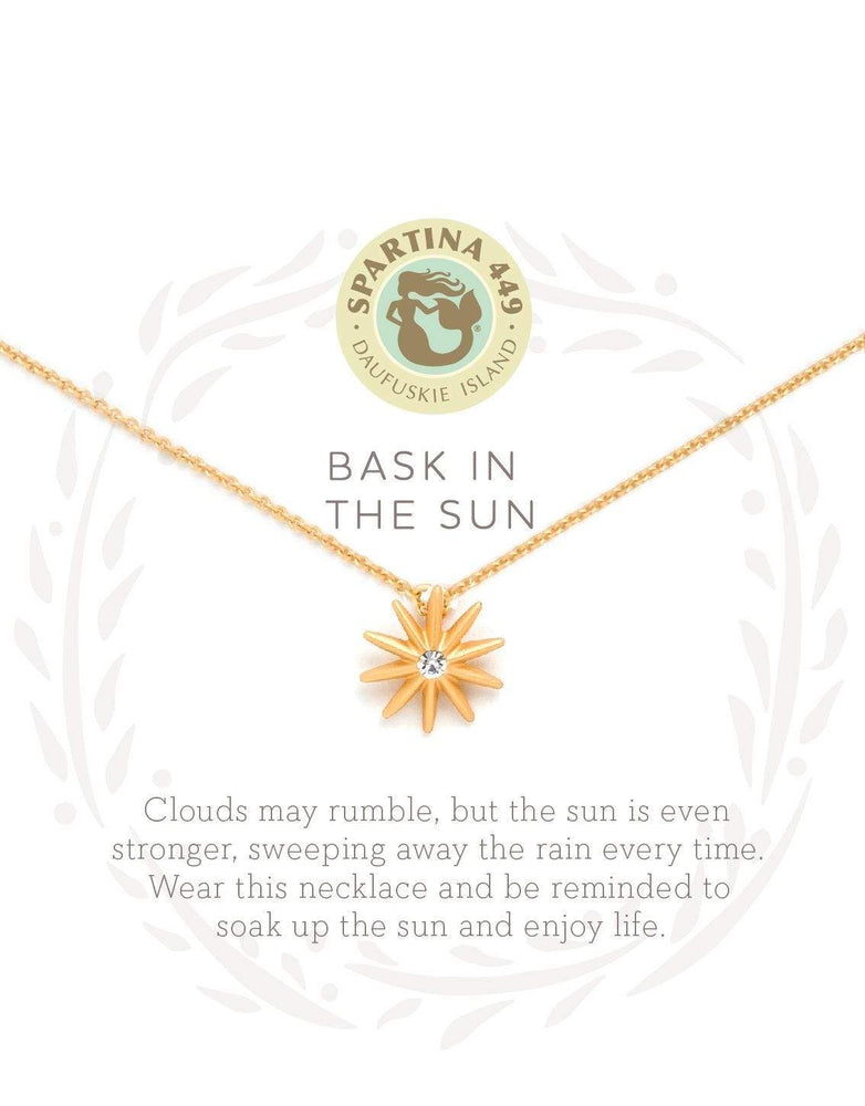 Bask in the Sun Sea La Vie Necklace at It's So Wright