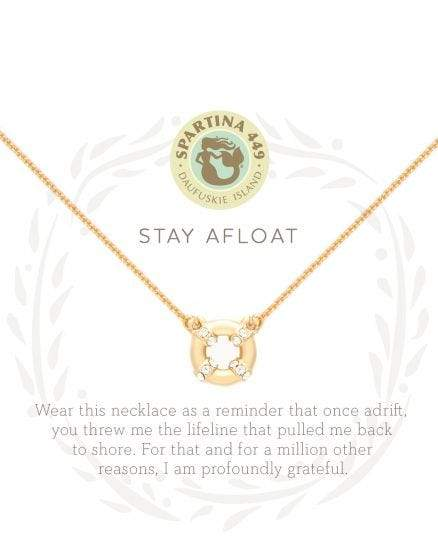 Stay Afloat Sea La Vie Necklace at It's So Wright