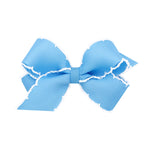 Blue Moonstitch Mini Bow