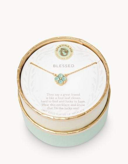 Blessed Seafoam Sea La Vie Necklace