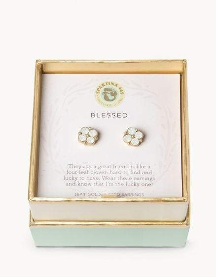 Blessed Sea La Vie Earrings