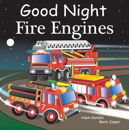 Goodnight Fire Engines Book at It's So Wright