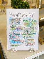 Brittany Rawls Emerald Isle Print at It's So Wright