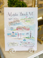Brittany Rawls Atlantic Beach Print