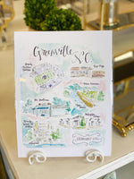 Brittany Rawls Greenville Print at It's So Wright