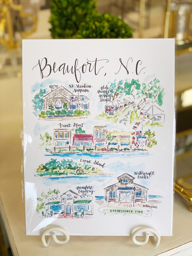 Brittany Rawls Beaufort Print at It's So Wright