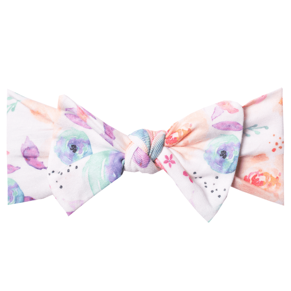 Bloom Knit Headband Bow