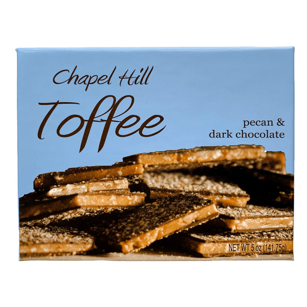 Chapel Hill 5oz Box of Toffee