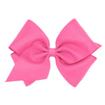 Hot Pink Mini King Bow