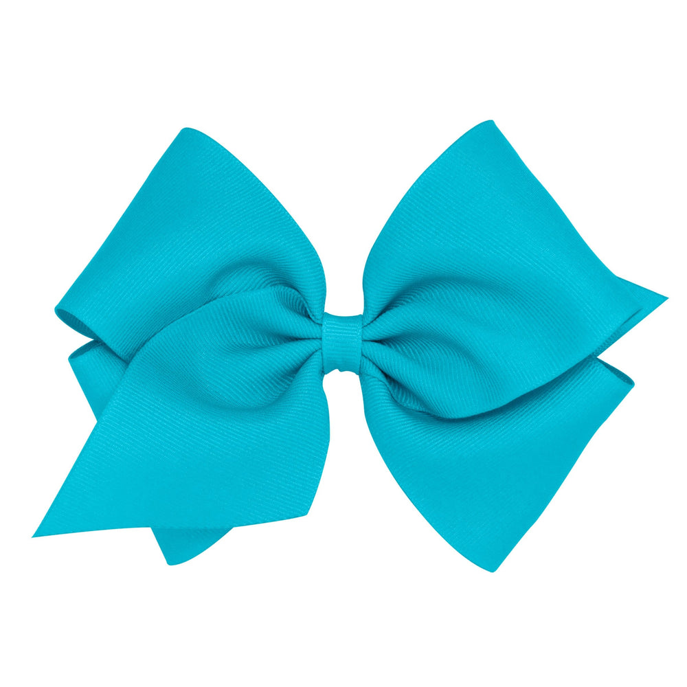 New Turquoise Mini King Bow at It's So Wright