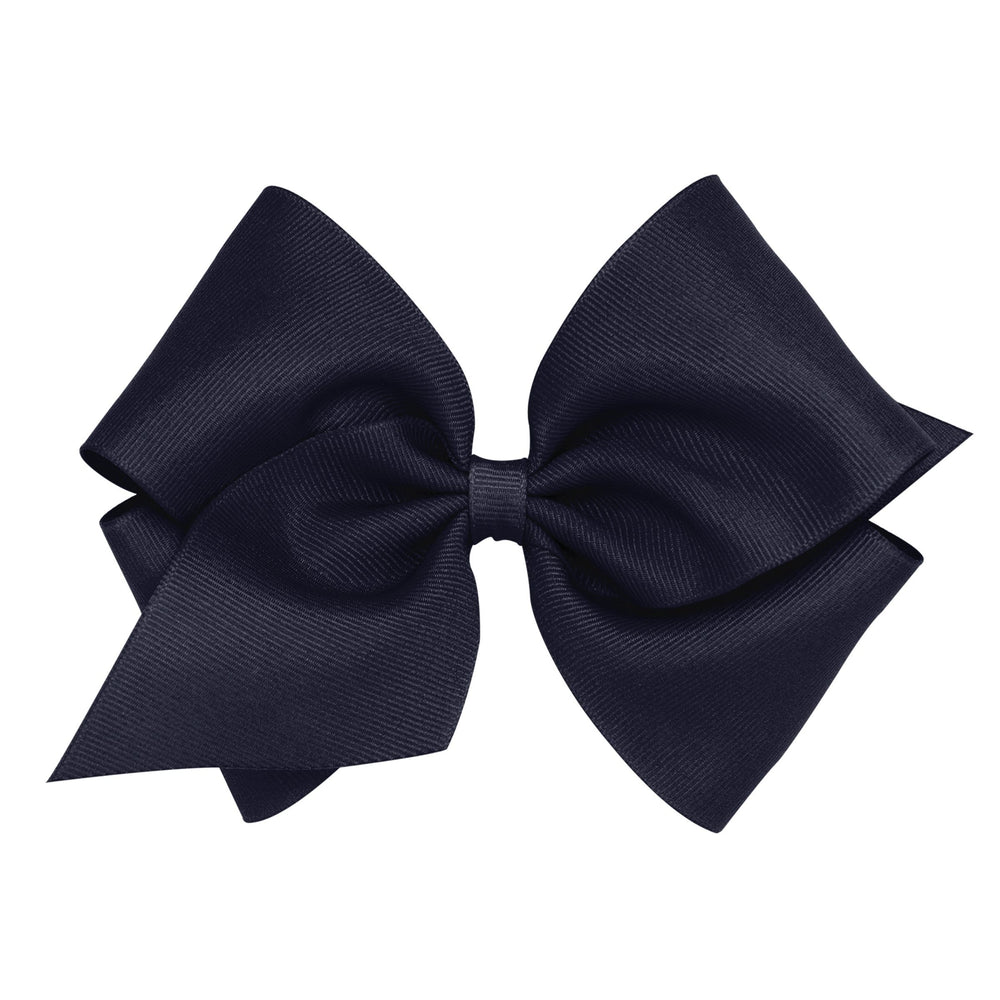 Navy Mini King Bow