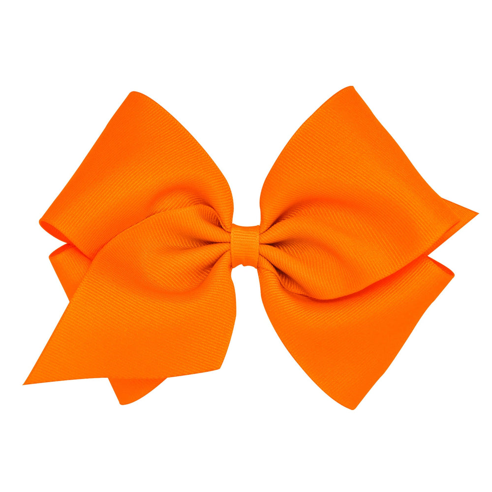 Orange Mini King Bow